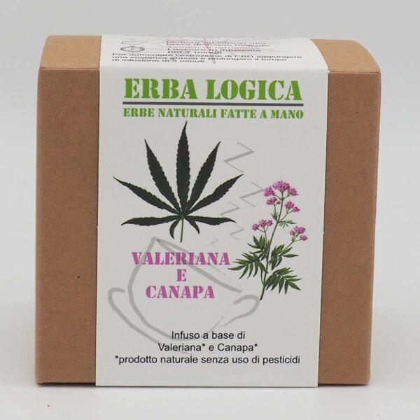 infuso valeriana canapa scatola 15 filtri