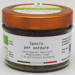 spezie per verdure barattolo 40 gr