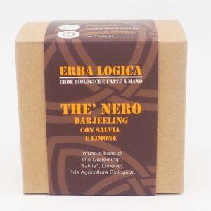 the darjeeling salvia limone scatola 15 filtri