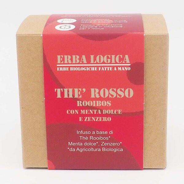 the rooibos menta zenzero scatola 15 filtri