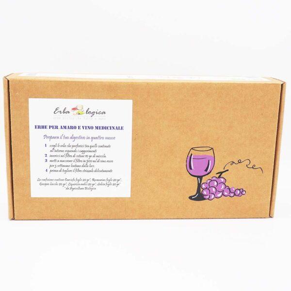 Erbe per vino scatola 100 gr
