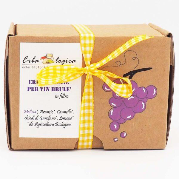 erbe per vin brulè melissa scatola 15 filtri