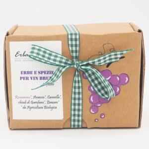 erbe per vin brulè rosmarino scatola 15 filtri