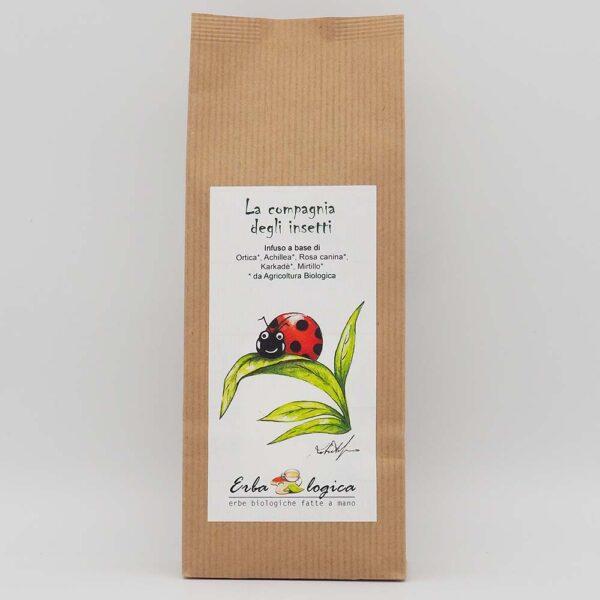 infuso coccinella sacchetto 15 filtri